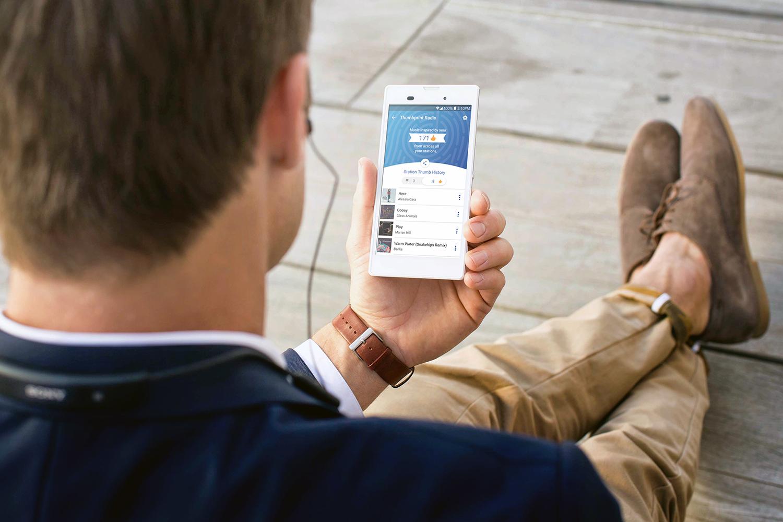 Pandora Launches Thumbprint Radio A Playlist Based On