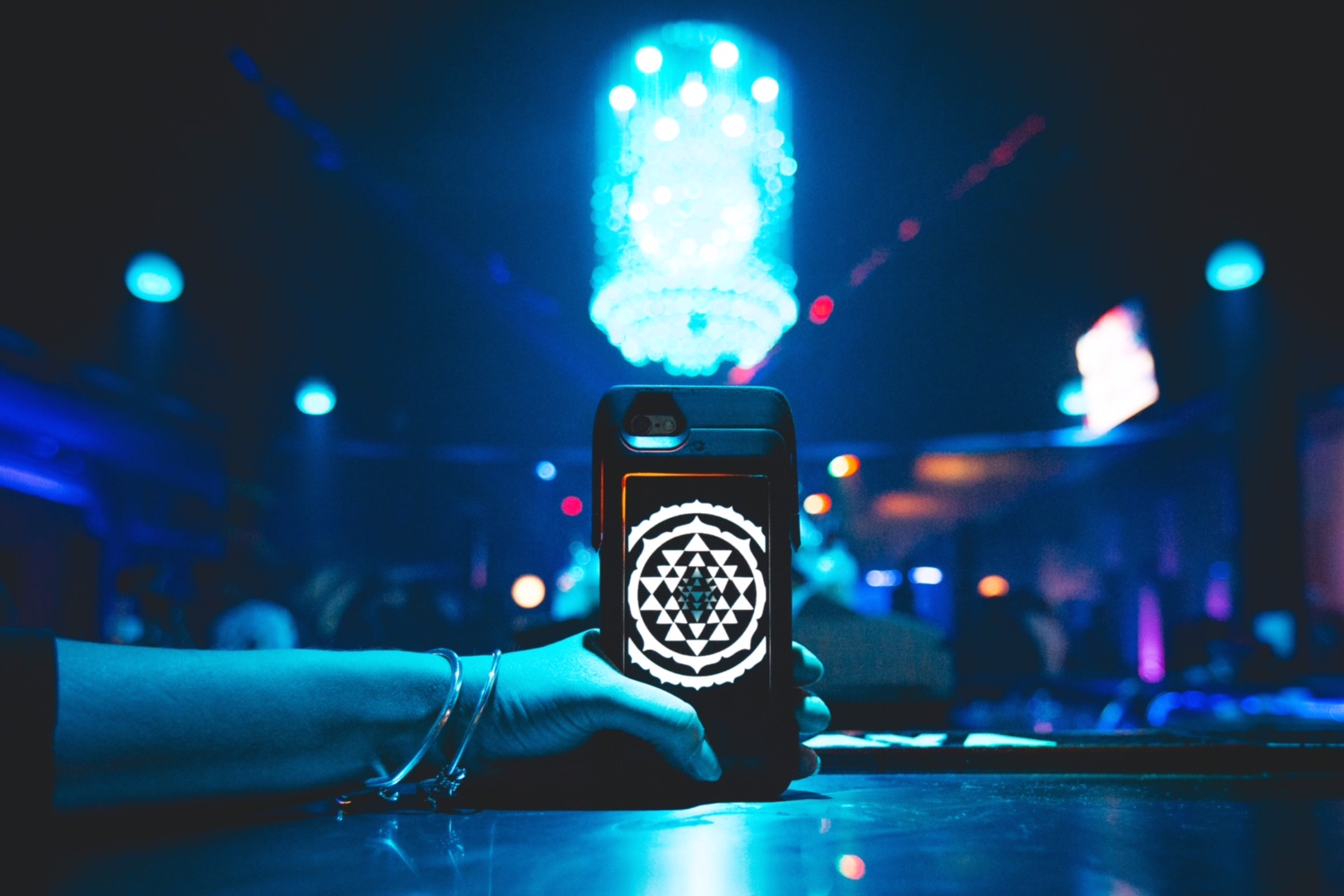 This Phone Case Lights Up In Time To Music Ready To Annoy