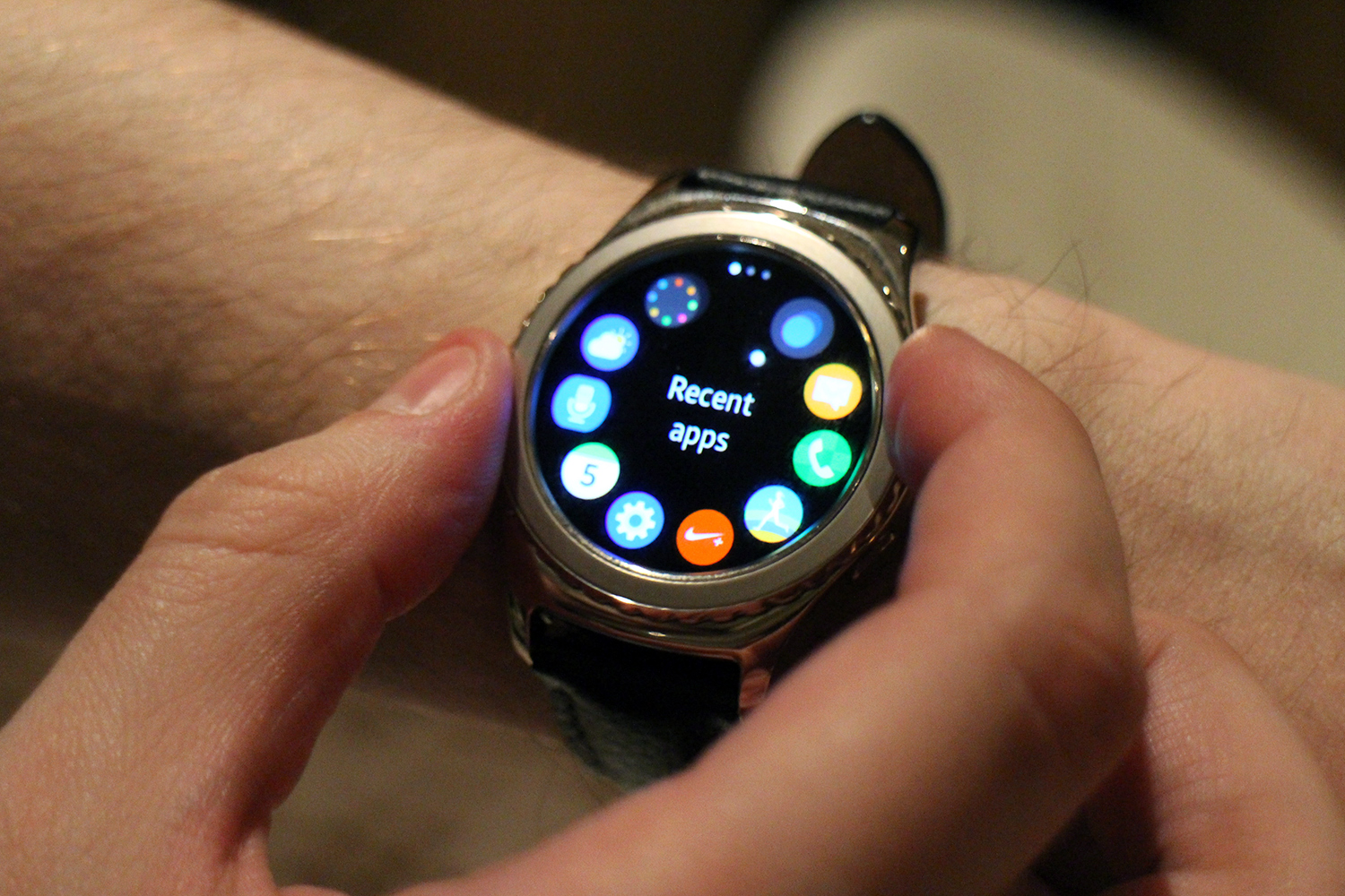 Samsung Wants To Turn Your Hand Into A Secondary