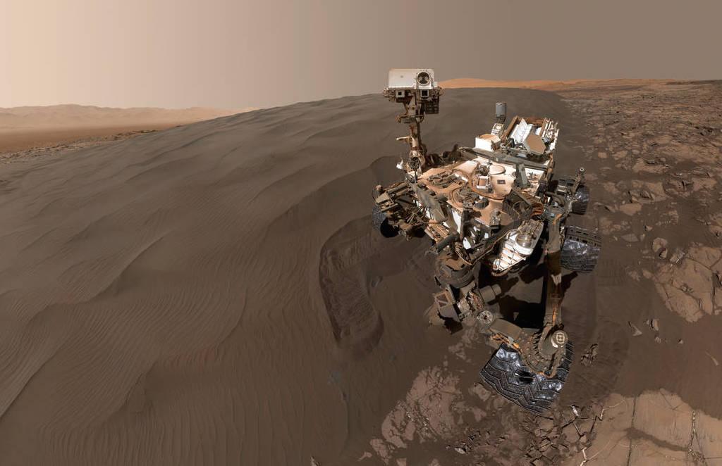 Curiosity Snaps Stunning Self Portrait On Mars Not A