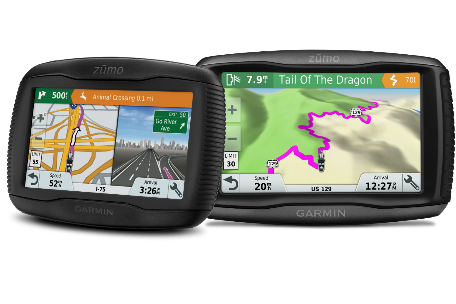 garmin 39 s zumo 395lm and 595lm series gives motorcyclists. Black Bedroom Furniture Sets. Home Design Ideas