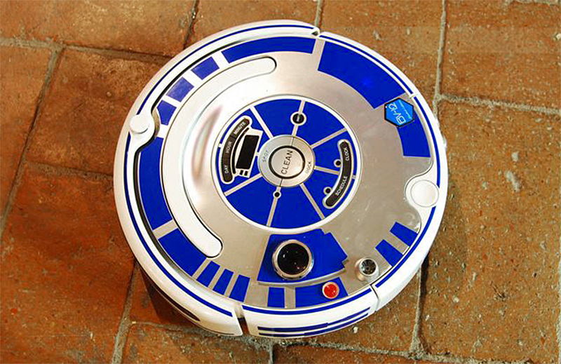 See A Roomba Turn Into R2d2 With This Creative Decal Set