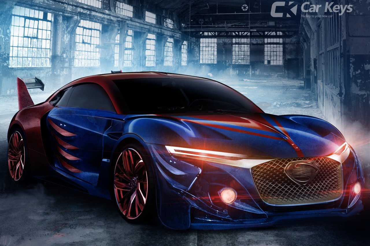 This Superhero Concept Car Is Made Of Kryptonian Metal And