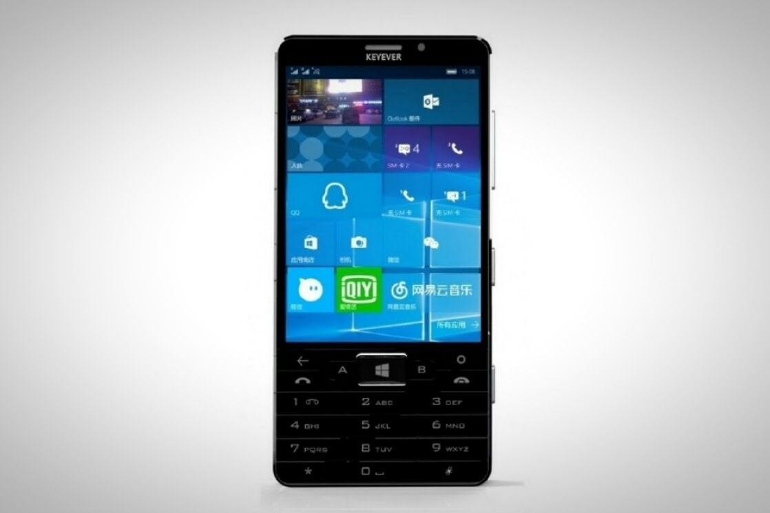 Keyever S Windows 10 Smartphone Shocks The World By