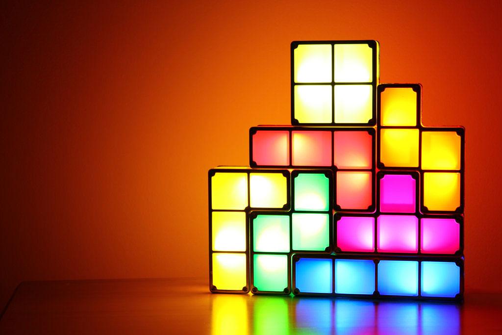 How To Build A Tetris Inspired Modular Lamp Digital Trends