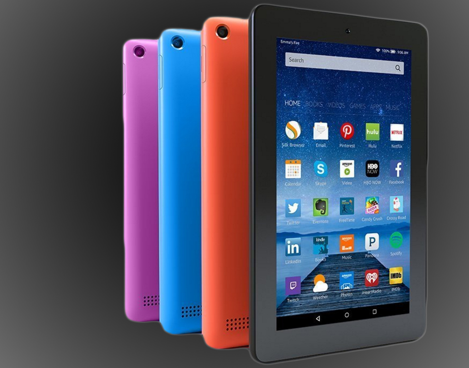 Amazon Brings Color And More Storage To Its 50 Fire Tablet
