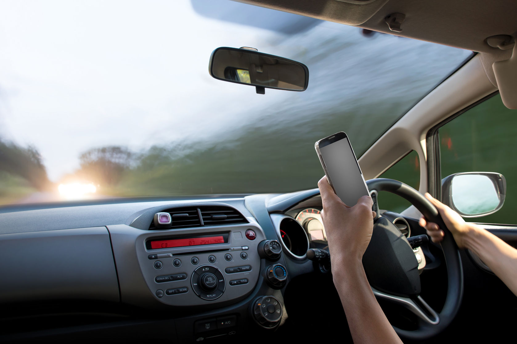 Cell phones distract from driving