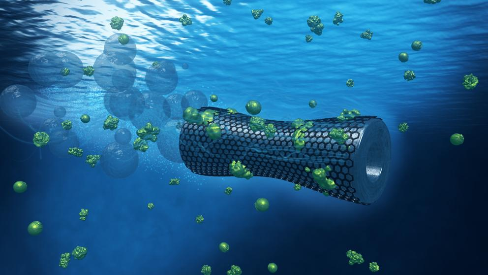 These Graphene Based Nanobots Suck Up Lead Contamination