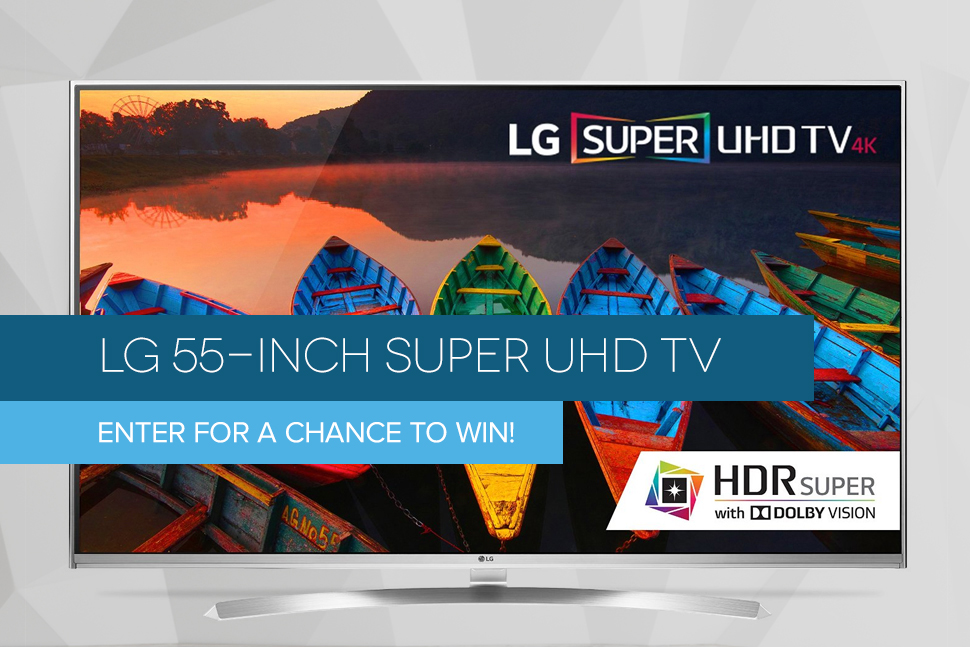 amazon lg tv giveaway