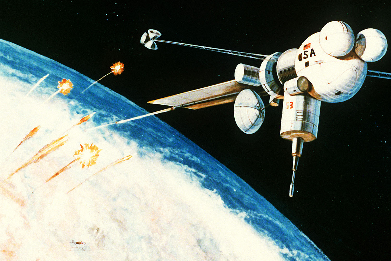 Weaponized Satellites and the Cold War in Space   Digital ...