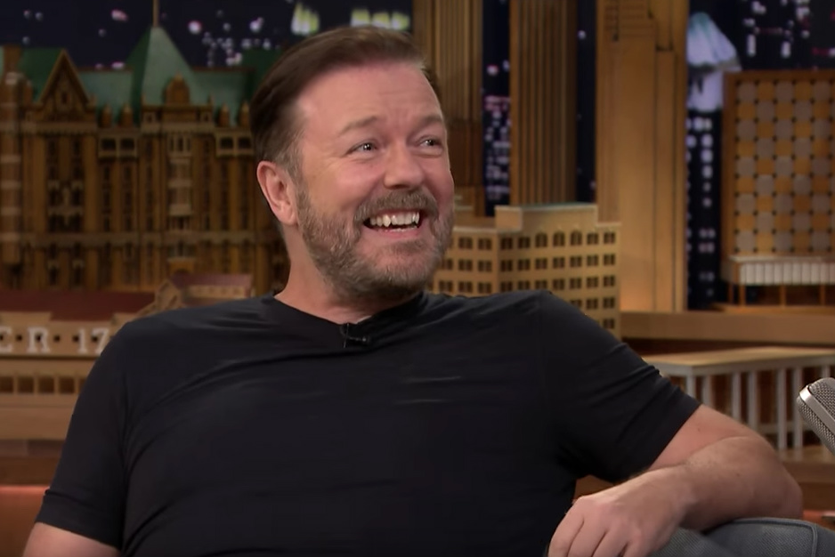 Caustic Ricky Gervais returns as Golden Globes host for ... |Ricky Gervais Movies