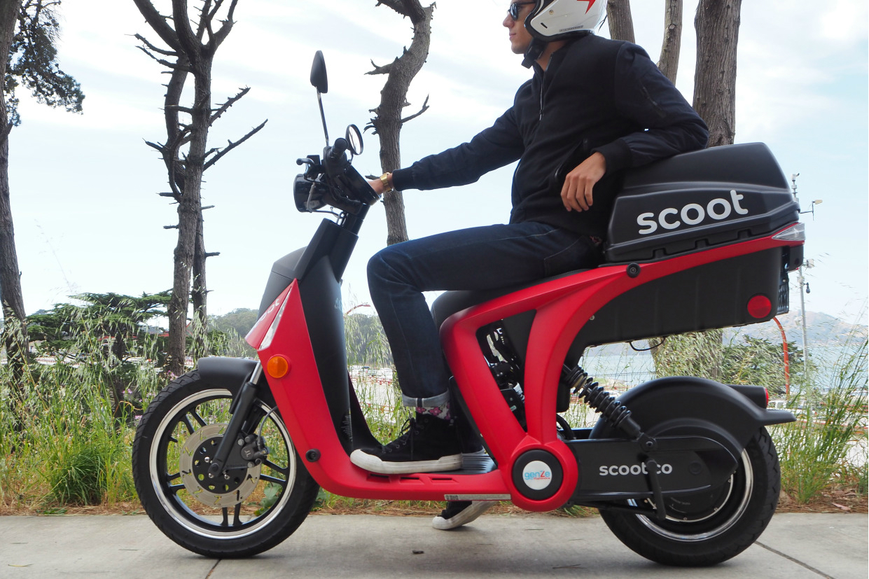 Best Car For Uber >> Scoot Networks teams up with GenZe to expand electric ...