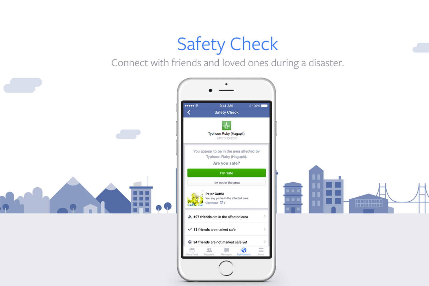 Facebook Safety Check Aktivieren