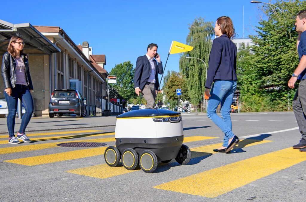 Delivery Robots May Not Be Able To Roam Freely About San