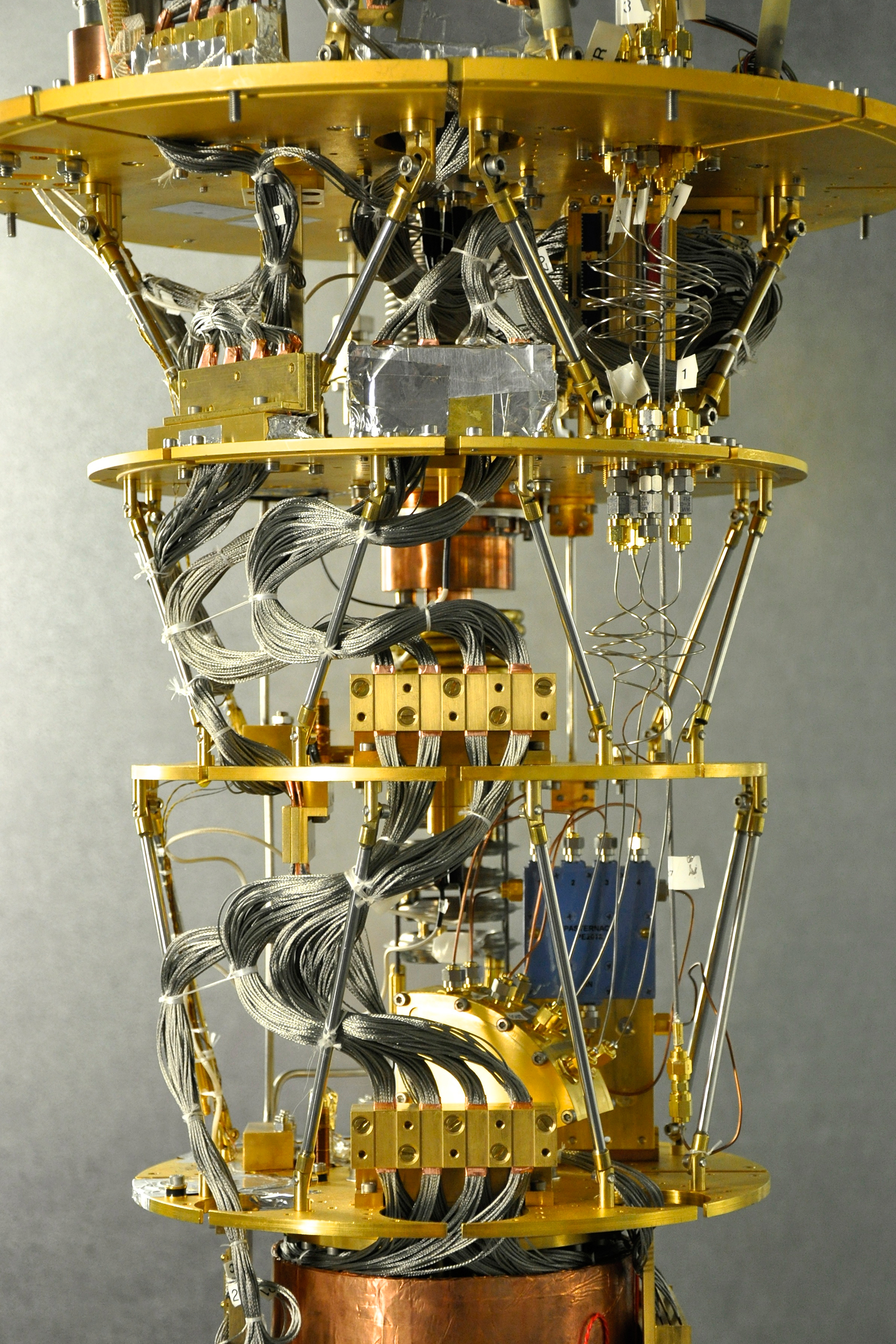 Quantum Computer Diagram From A Quantum Computer To