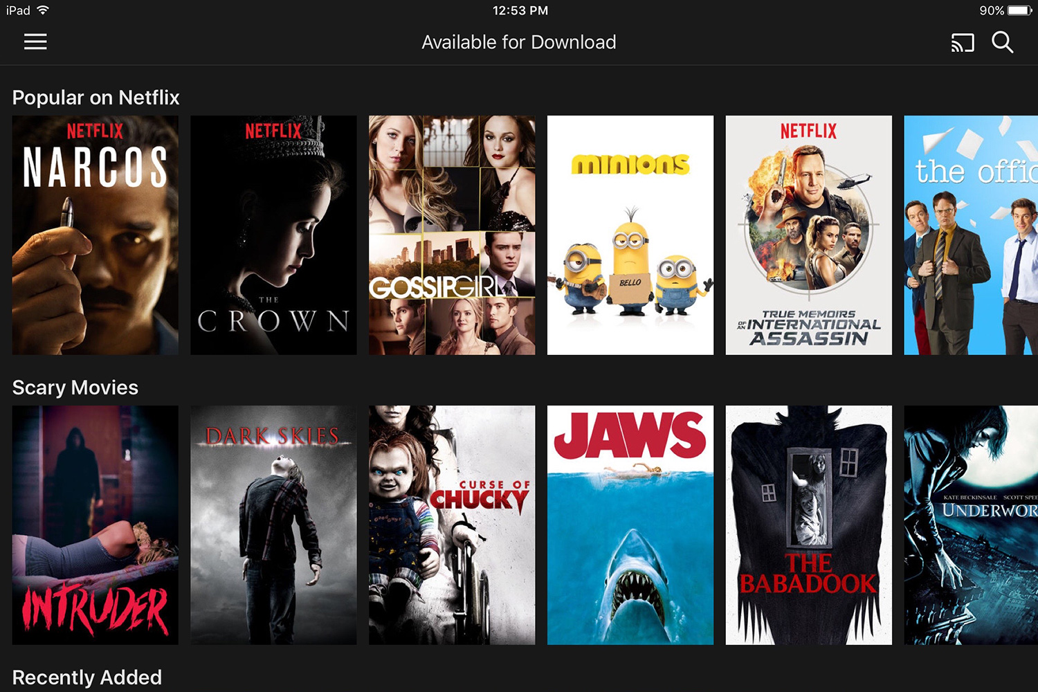 How to download movies from netflix for offline viewing - Home shows on netflix ...