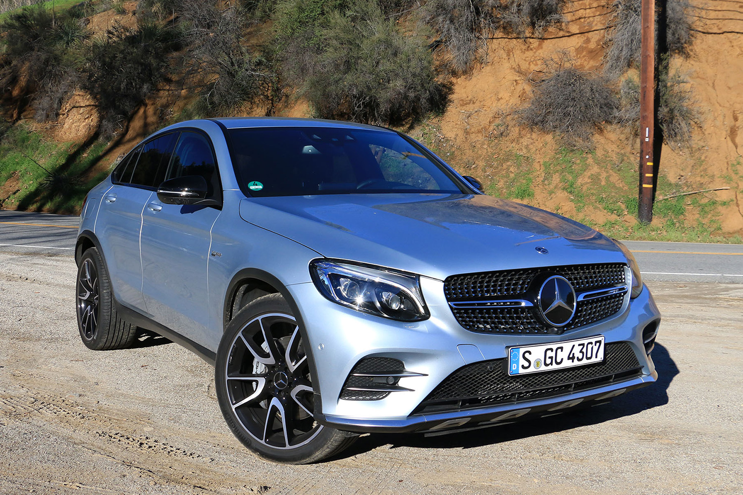 2017 mercedes amg glc43 coupe first drive. Black Bedroom Furniture Sets. Home Design Ideas