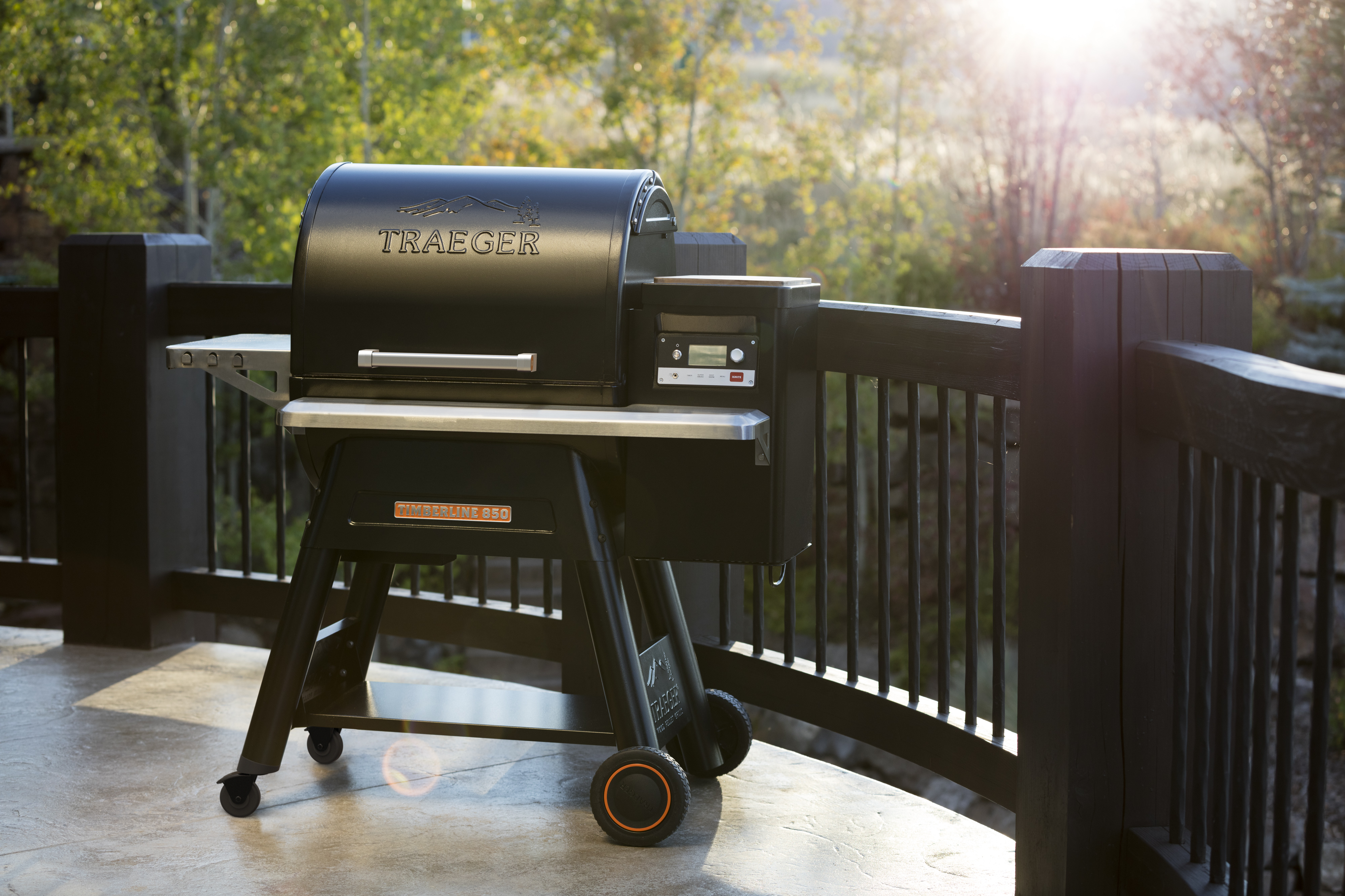 Traeger Timberline Lets You Keep Grilling While You Re On