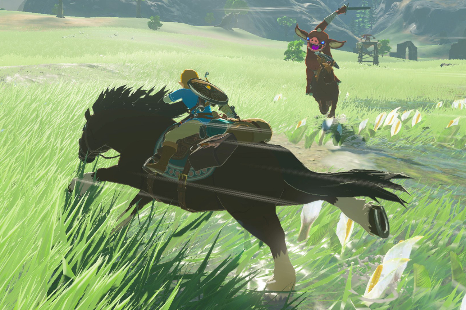 The Legend Of Zelda Breath Of The Wild Horse Guide