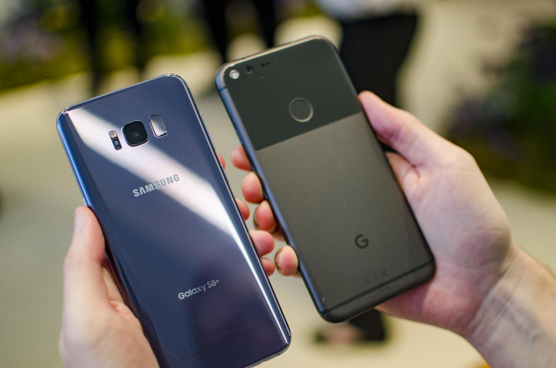 samsung galaxy s8 plus vs google pixel xl specs comparison digital trends