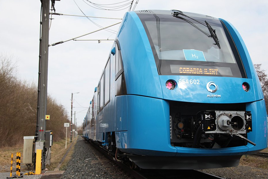 Speed Test Frontier >> Hydrogen-powered train with zero emissions completes test ...