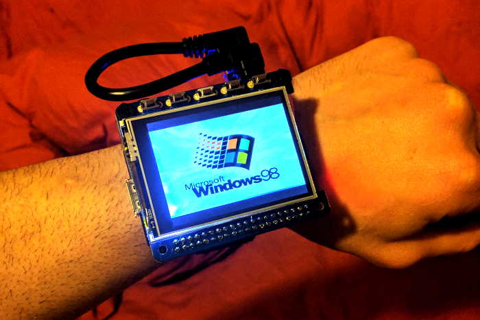 Check Out Windows 98 Running On A Smart Watch Powered By
