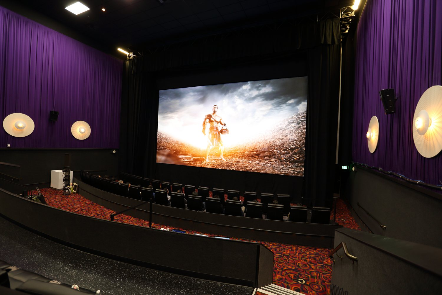 screen cinema samsung theater movie led 4k theaters foot future display hdr giant edition container inside digital think box nofilmschool