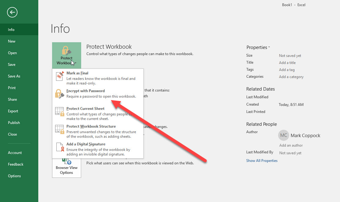 How To Password Protect An Excel File Digital Trends
