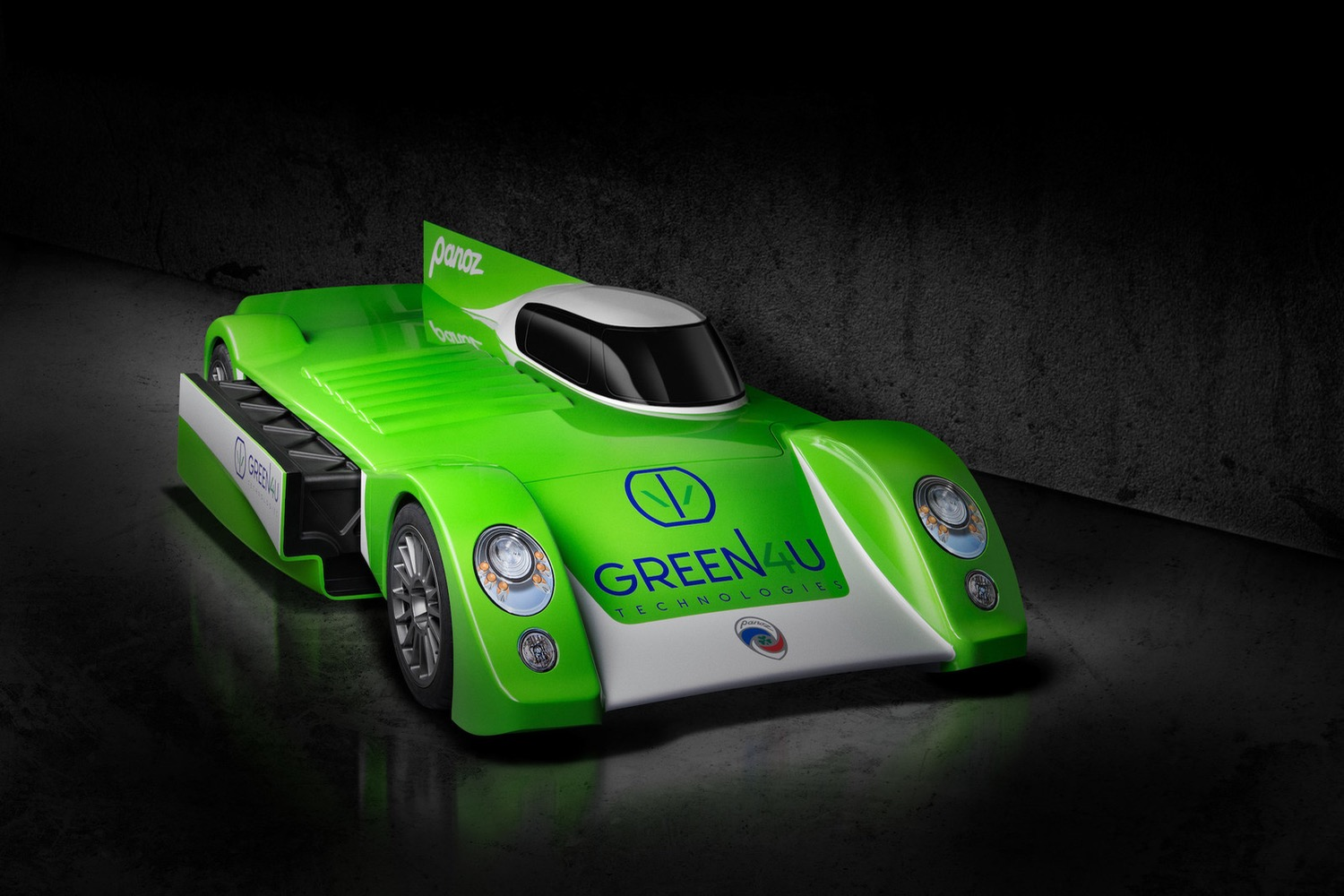 Tiny Home Designs: Panoz's Electric Race Car Concept Might Be Coming To A