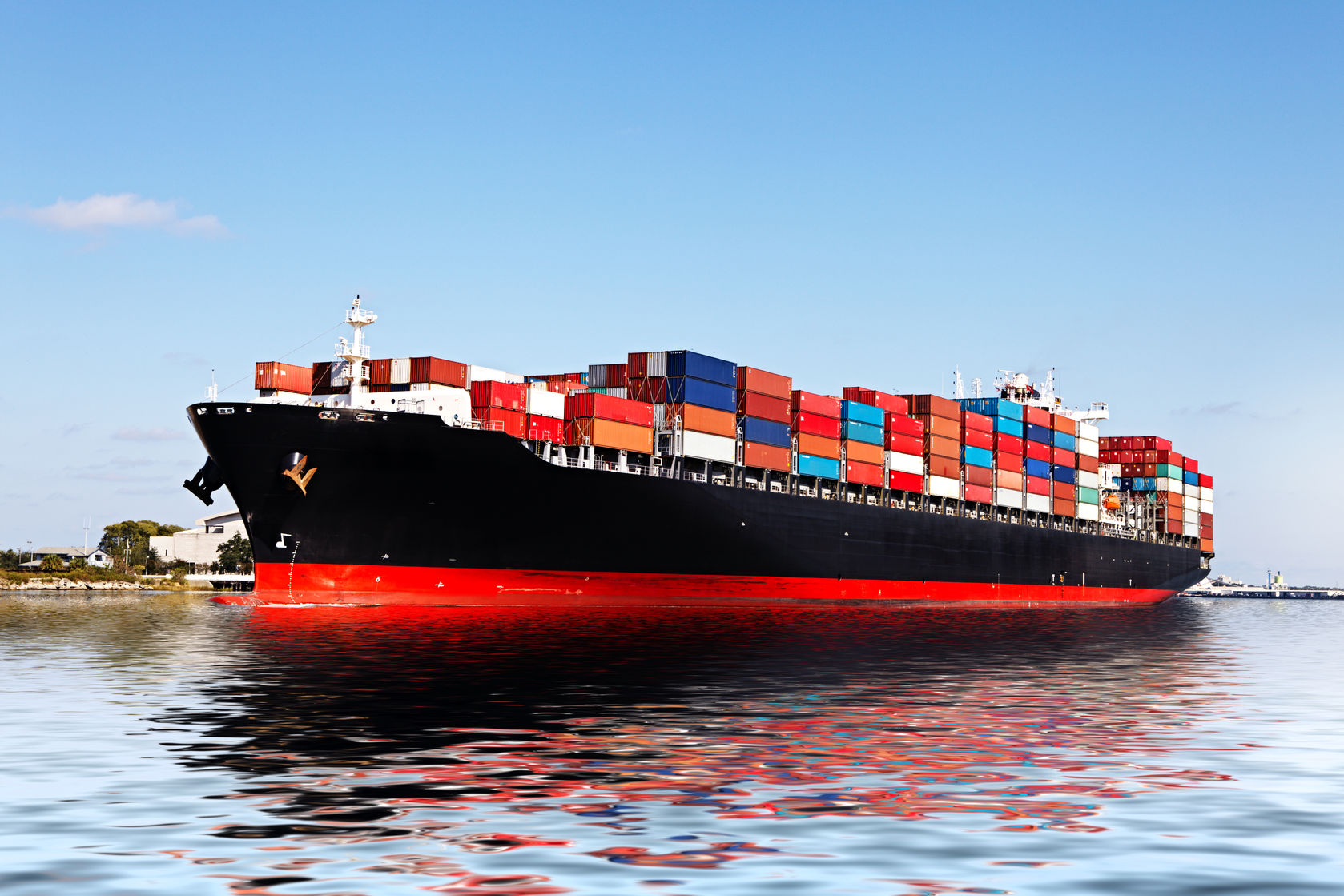 Container Ship Travel Time