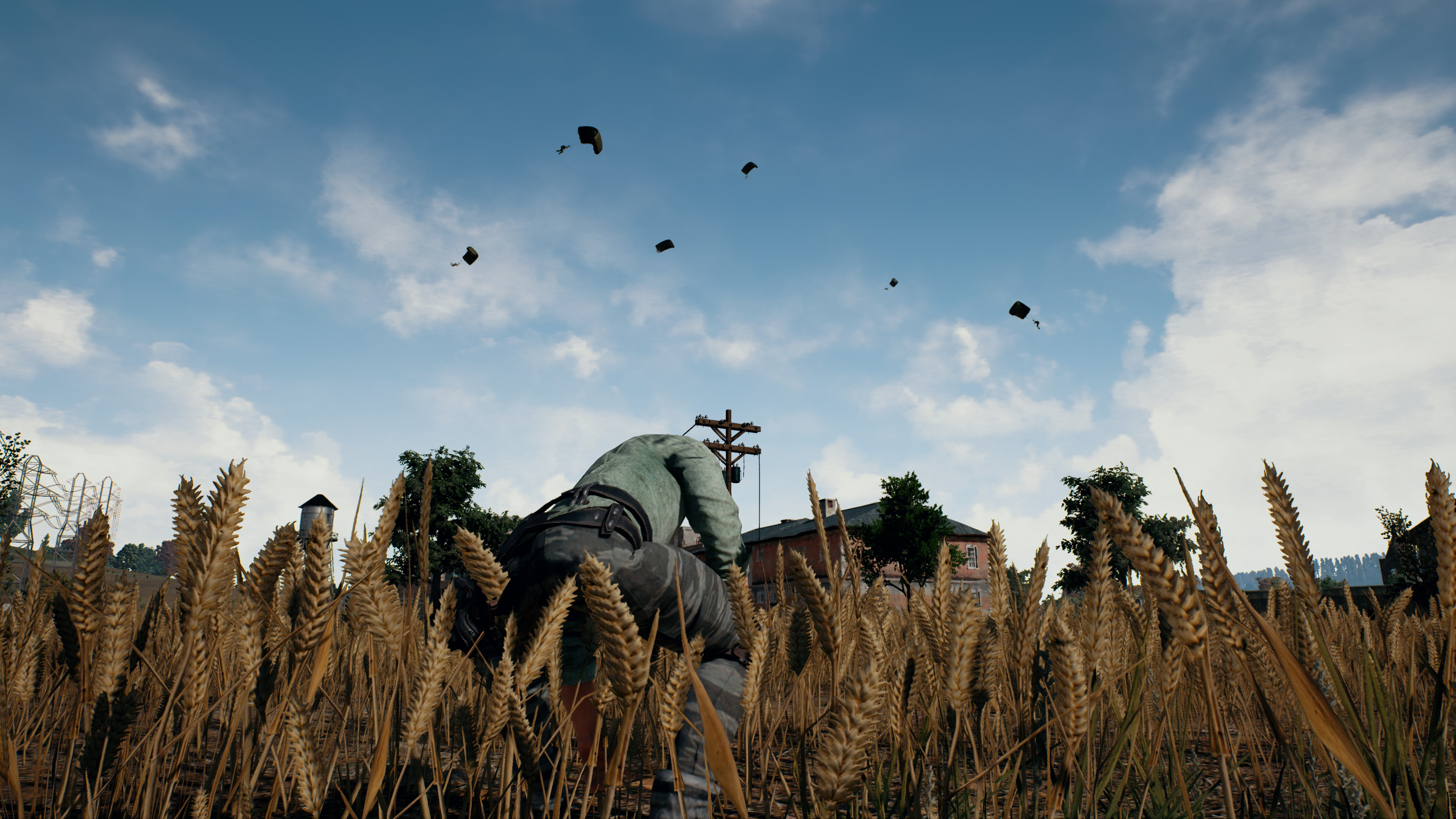 High Resolution Pubg Wallpaper 4k: Playerunknown's Battlegrounds 4K Screenshots: High-Res