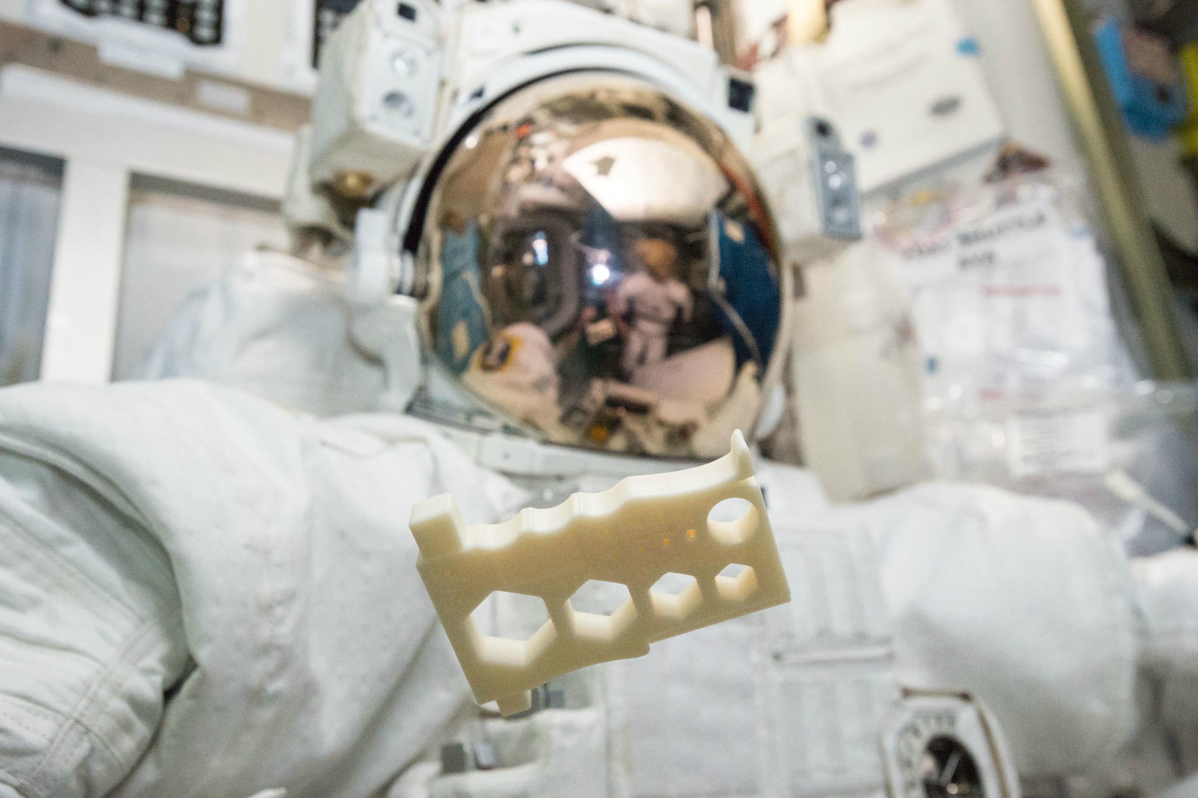 Tough New 3D Printing Plastic Lets Astronauts Print