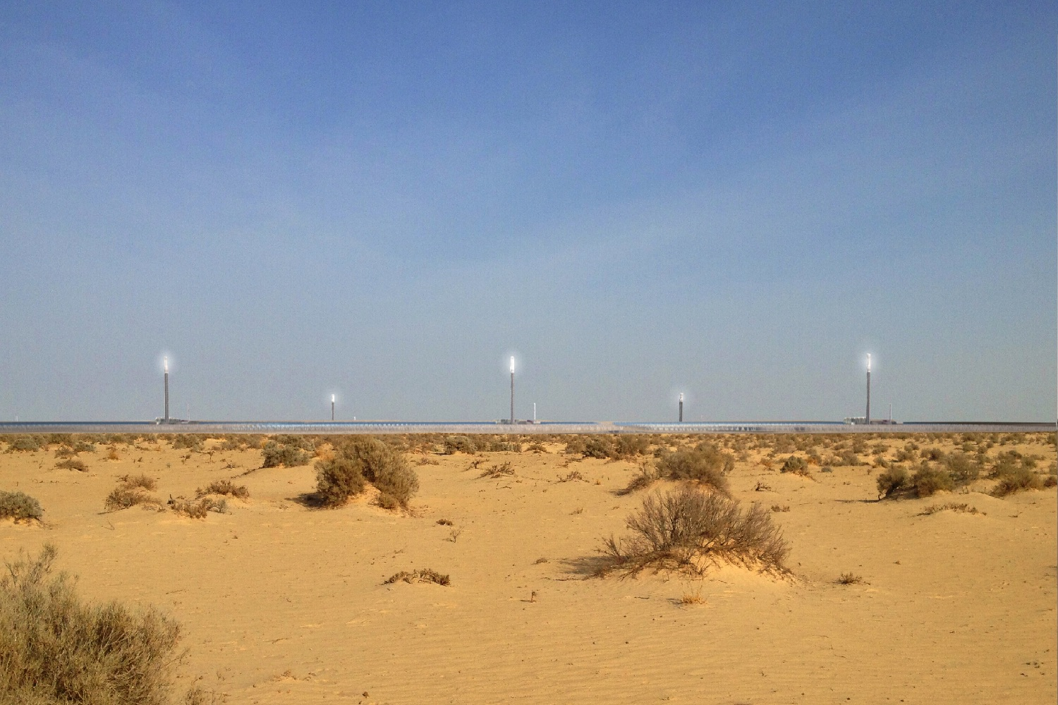 Massive Solar Plant In The Sahara Could Help Keep The Eu
