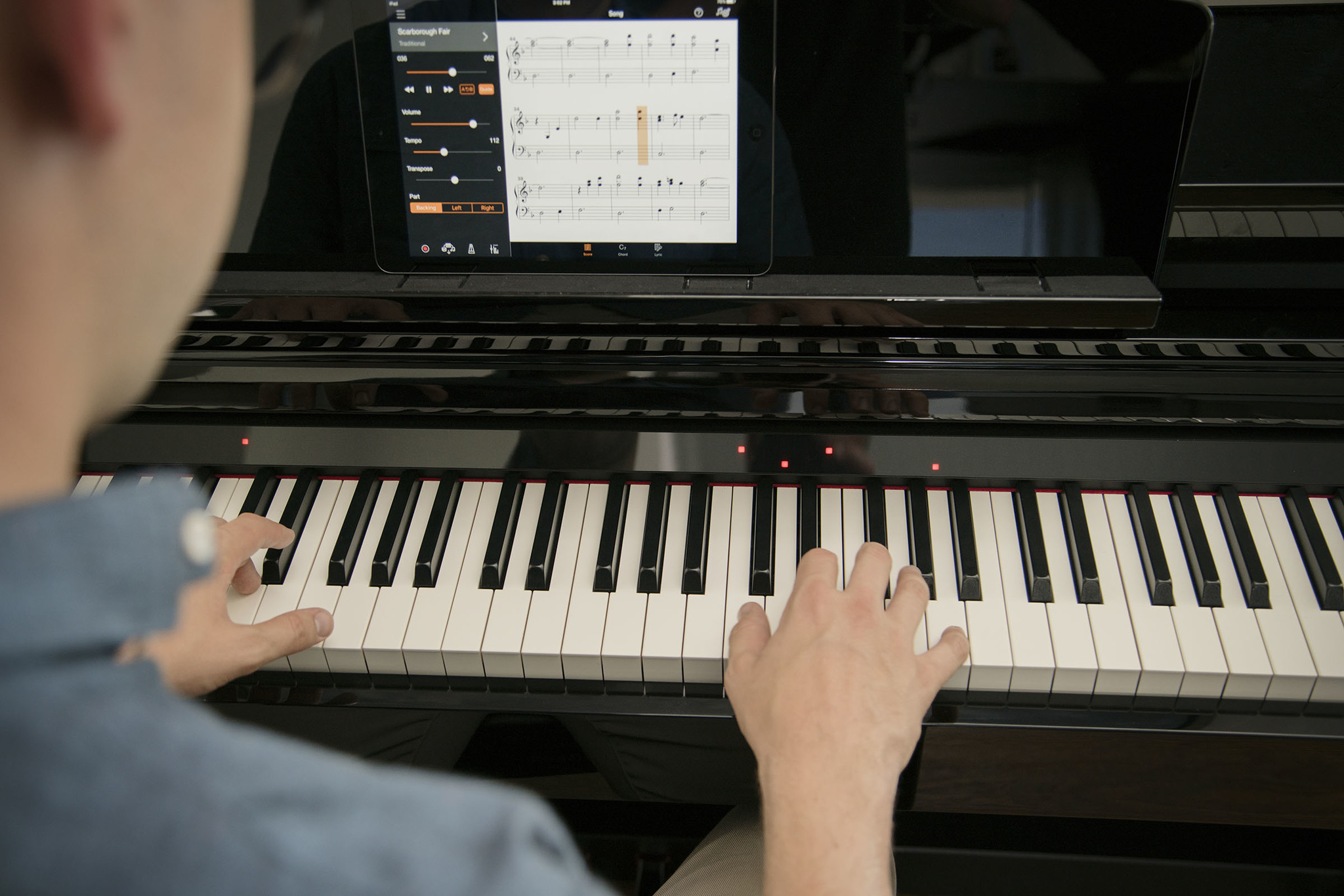 yamaha clavinova csp piano will teach you to play your favorite tunes. Black Bedroom Furniture Sets. Home Design Ideas