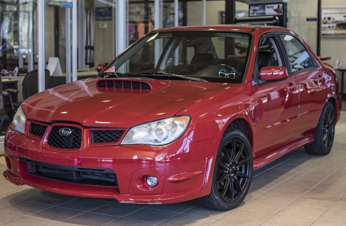 baby driver subaru wrx sells for nearly 70 000 at auction. Black Bedroom Furniture Sets. Home Design Ideas
