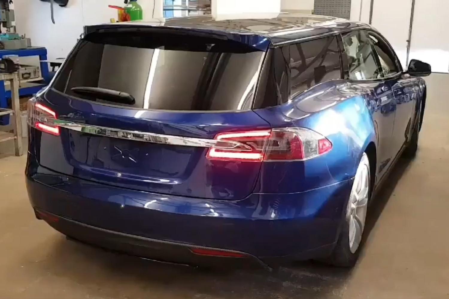 My Ford Benefits >> Brits turned the Tesla Model S into a wagon, and one could ...