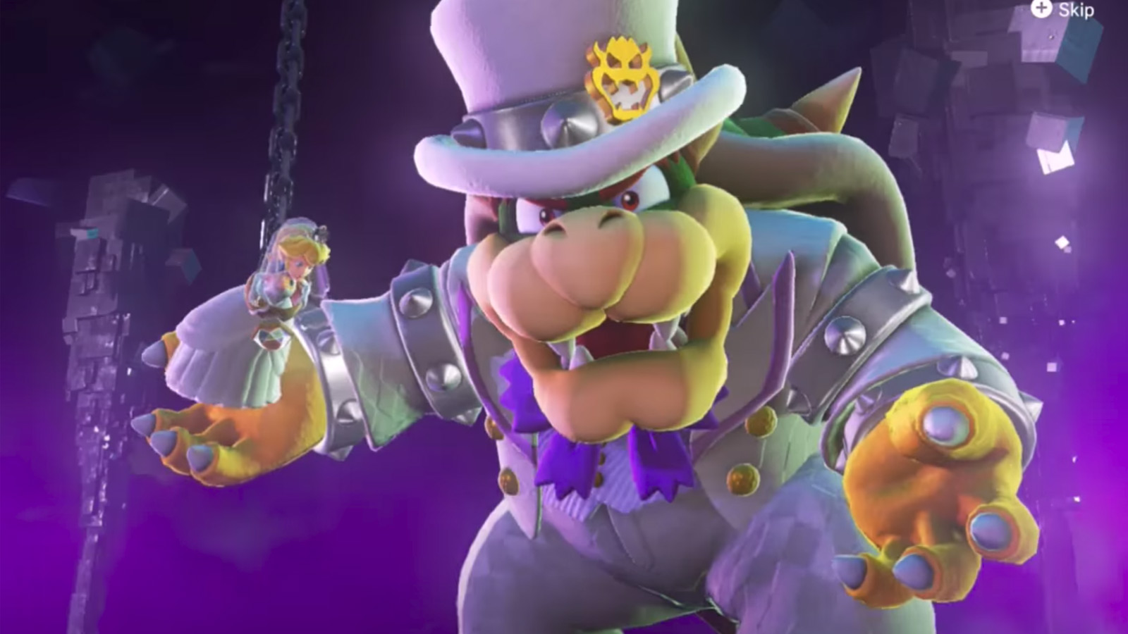 Sell My Car For Cash >> Watch Bowser deride Mario's choice of wedding attire in ...