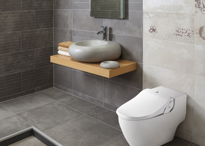 Turn Your Toilet Into A Bidet With The Slim Two Smart