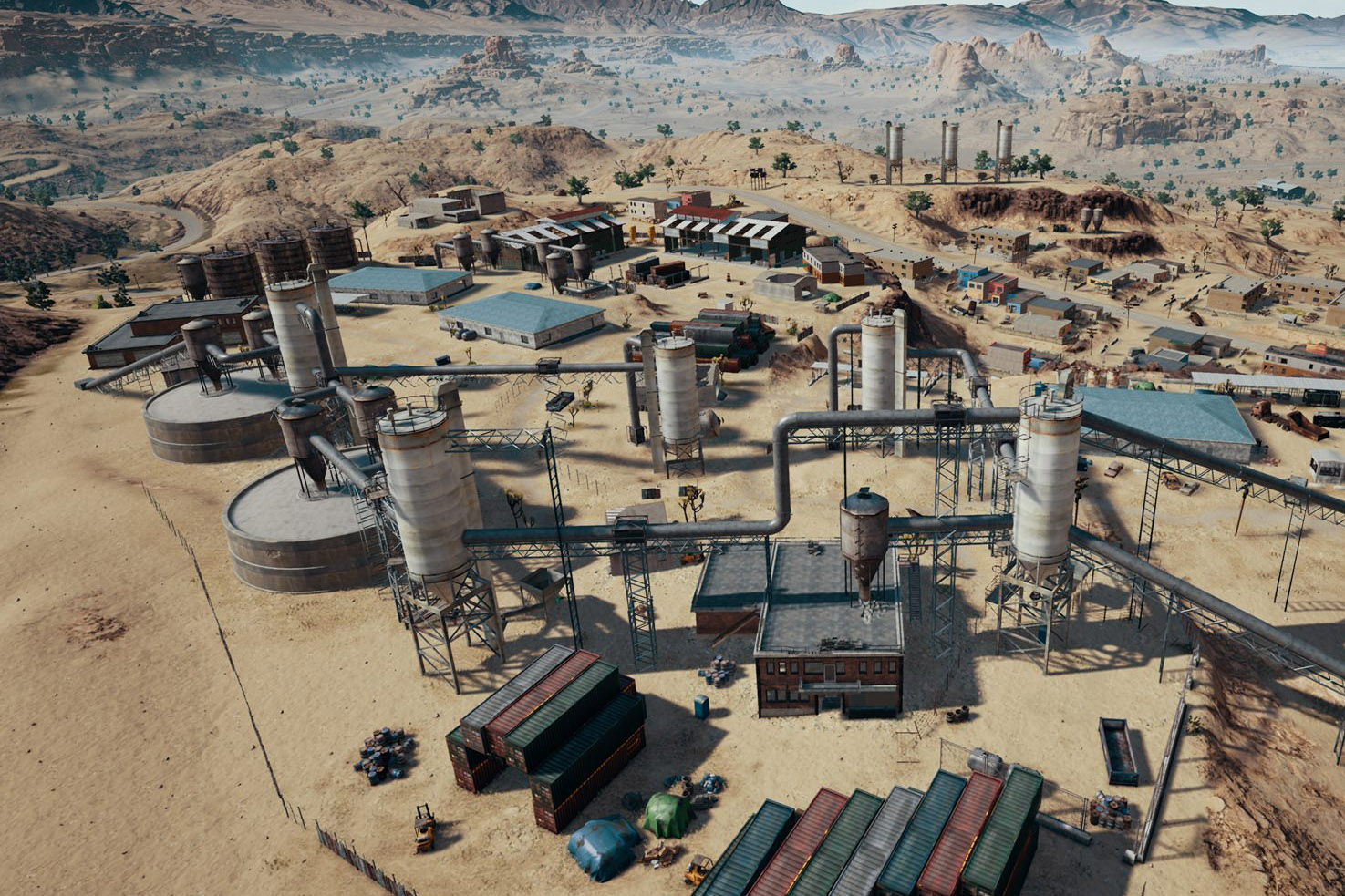 Playerunknown S Battlegrounds Maps Loot Maps Pictures: Desert-themed Map For 'PlayerUnknown's Battlegrounds