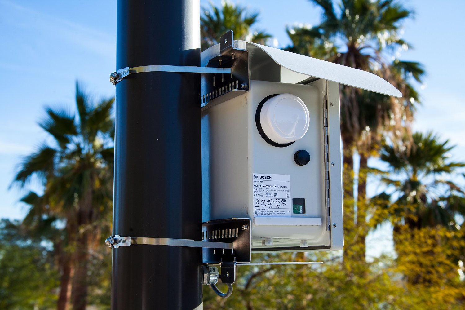 Is Your Street Polluted Bosch S Climo System Measures Air