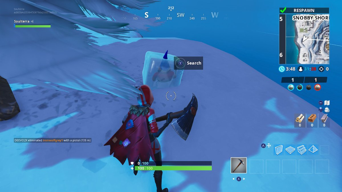 Gnome 4: Fortnite Week 6 Challenges: Search Chilly Gnomes Guide