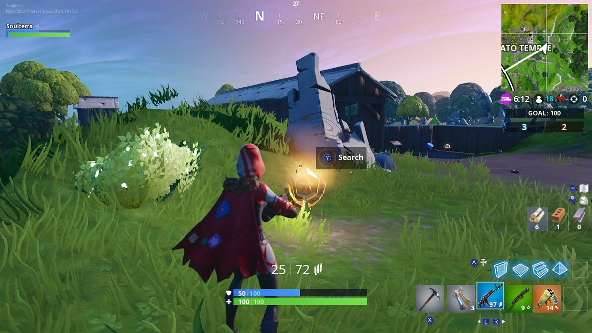 Fortnite Week 5 Challenges: Where to Search Between a Giant Rock Man