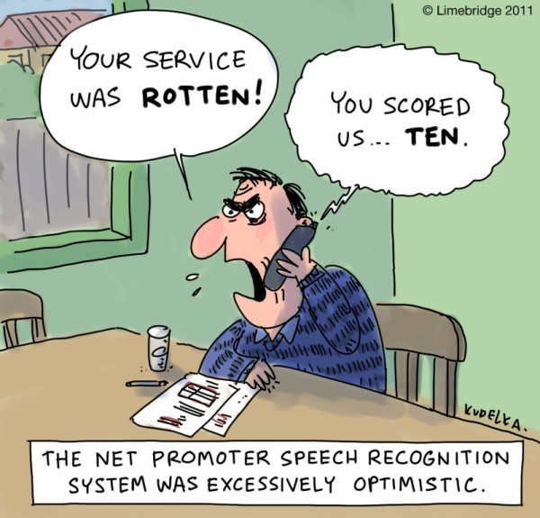 NPS Cartoon - Rotten Service