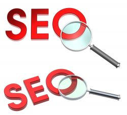 SEO under Two Magnifying Glasses