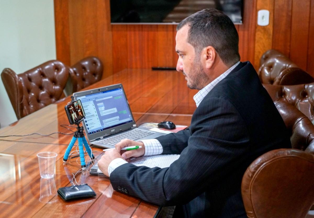 Frank Rogieri de Souza Almeida Presidente FNBF