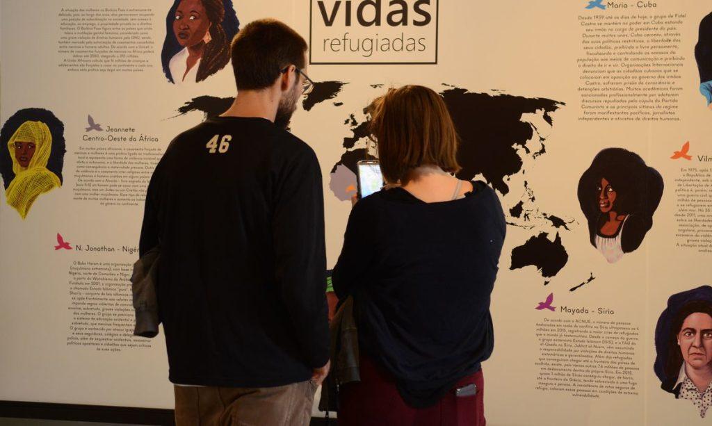 São Paulo -  Exposição Vidas Refugiadas, em cartaz no Museu da Imigração, durante a 15ª Semana Nacional de Museus (Rovena Rosa/Agência Brasil)