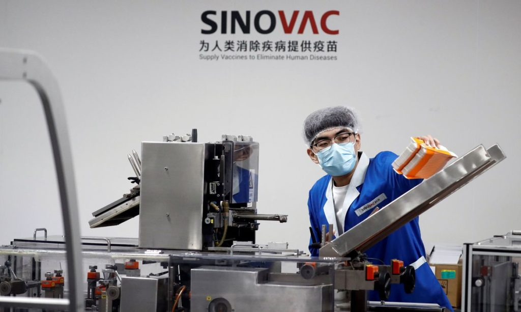 Fábrica de vacinas da Sinovac em Pequim 24/09/2020 REUTERS/Thomas Peter
