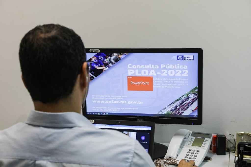 Sefaz apresenta metas da Lei Orçamentária de 2022 em audiência pública