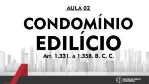 Síntese do Direito Condominial Aula - 02