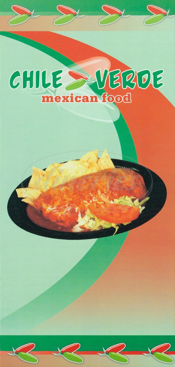 In And Out Prices >> Chile Verde Menu - Inglewood - Dineries